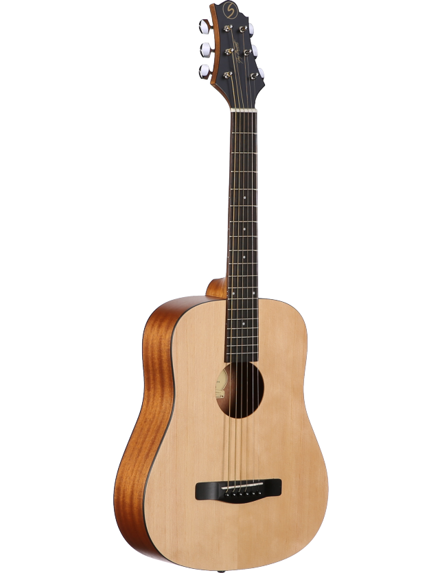 Gd-50mini/opn-psy Guitarra Acustica Mini/traveler Open Pore + Ecualizador Fishman Presys