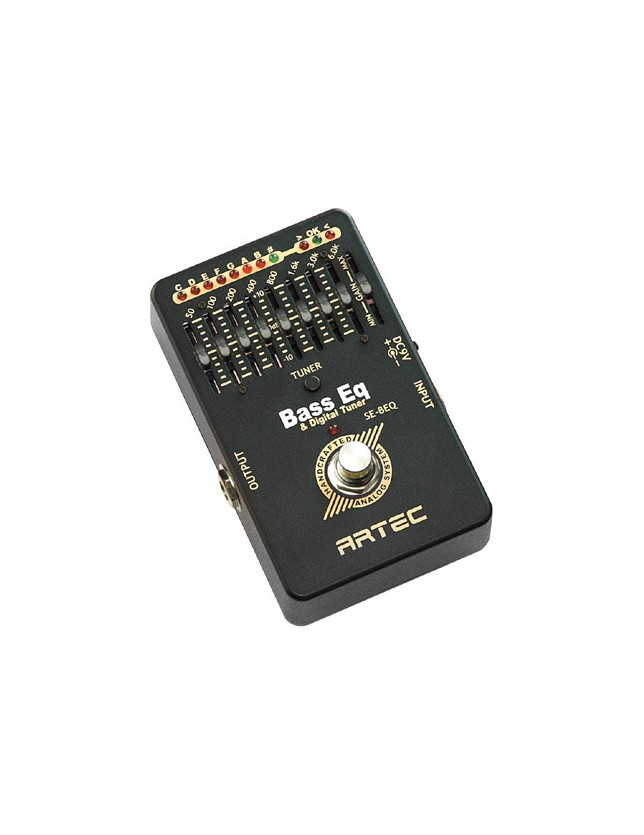 Se-beq Ecualizador, Afinador: Bass Eq With Digital Tuner