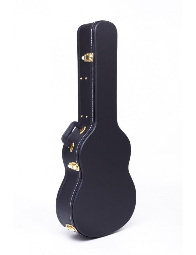Hge115 Bk Estuche Rígido De Guitarra Clásica