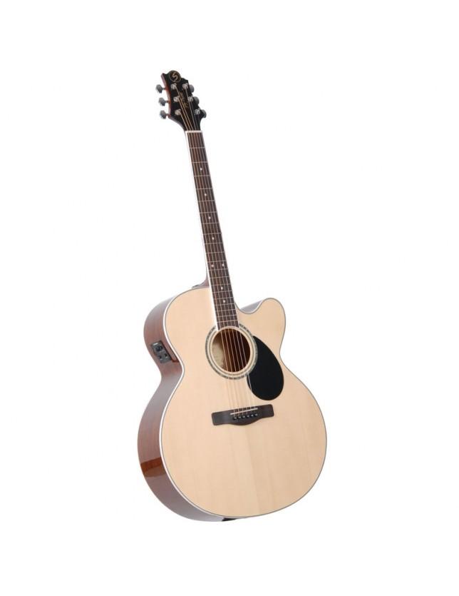 Gj-100sce Guitarra Electro-acústica Con Corte Y Ecualizador Fishman Isys T Serie G