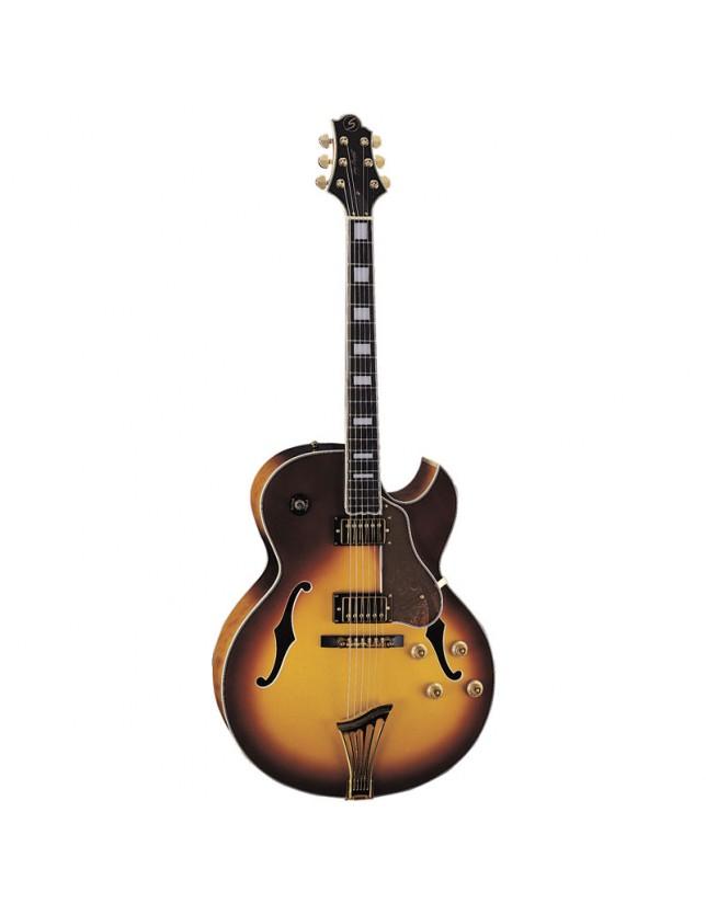 Jz-3 Guitarra Eléctrica Archtop Jazz Serie Lasalle