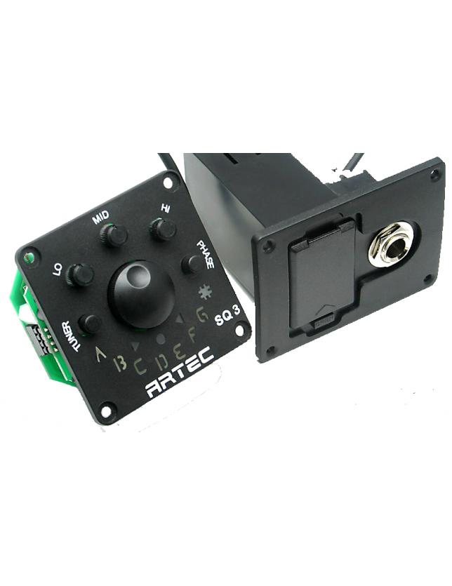 Sq3 Pre-amplificador Ecualizador De 4 Bandas