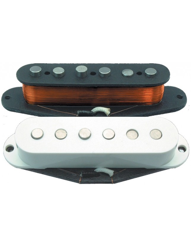 Gcs-2-bk-b Giovanni Custom Pickup Black