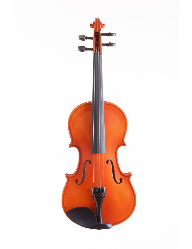 Vio142-4/4 Violin De 4/4 Con Fondo De Maple Flameado