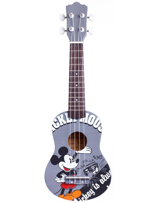 Ku-3 Ukelele Soprano Con Funda Mickey