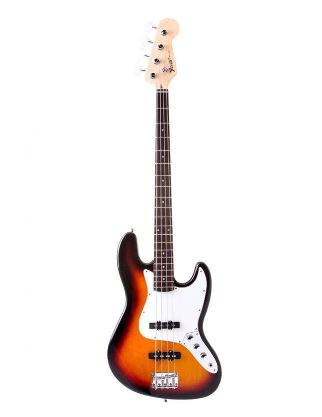 Yjb-20p Bajo Eléctrico 4 Cuerdas Jazz Bass 3ts