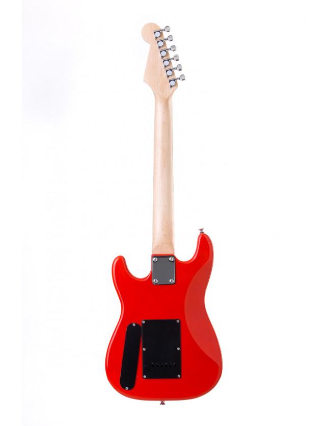Ykst-10 Guitarra Eléctrica Stratocaster De Niño Escala 34