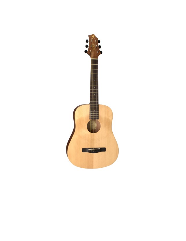 Gd-50mini/opn Guitarra Acustica Mini/traveler Open Pore
