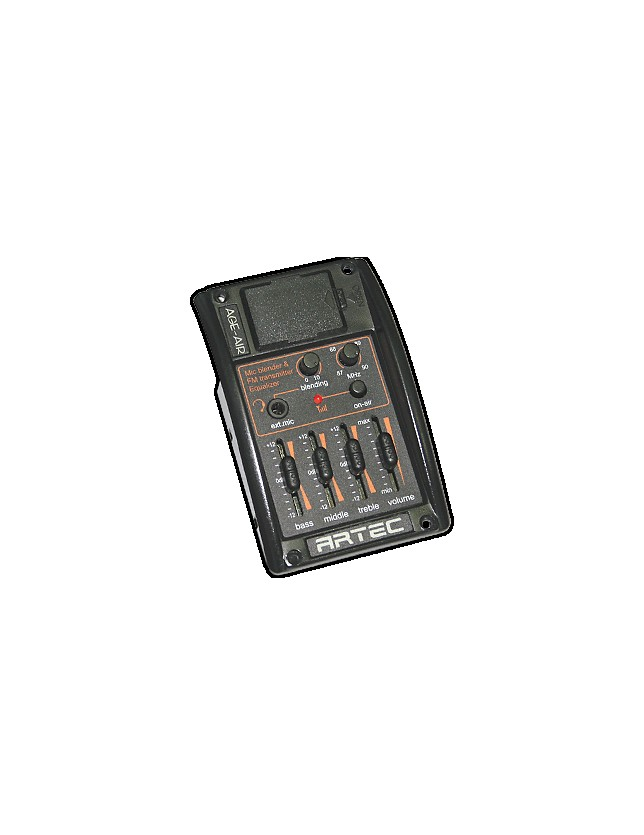 Age-air Ecualizador De 3 Bandas Con Transmisor Fm Y Entrada Para Microfono